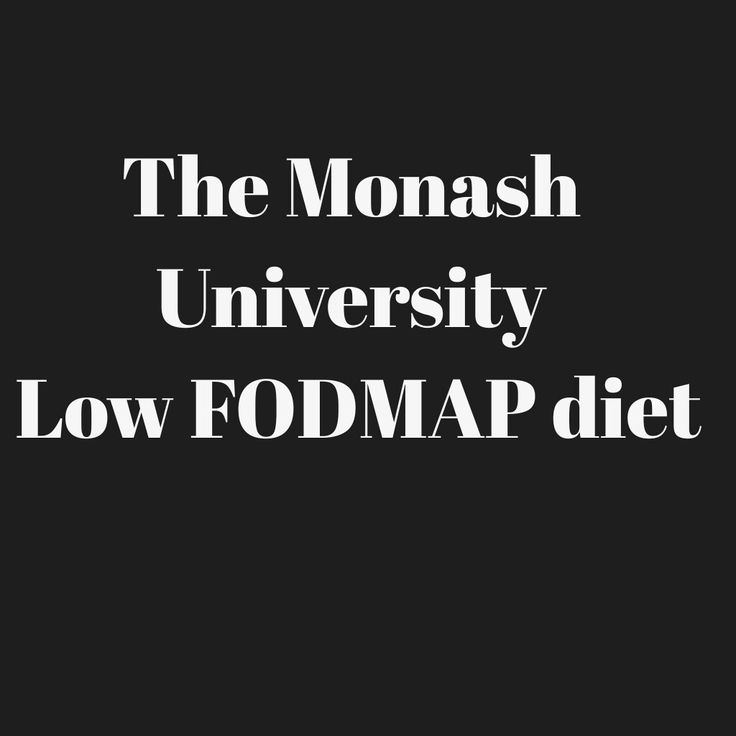 monash university low fodmap diet guide pdf