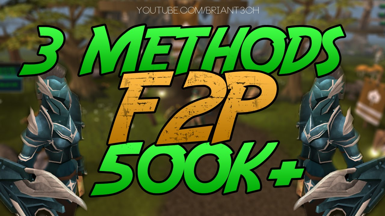 money making guide f2p rs3