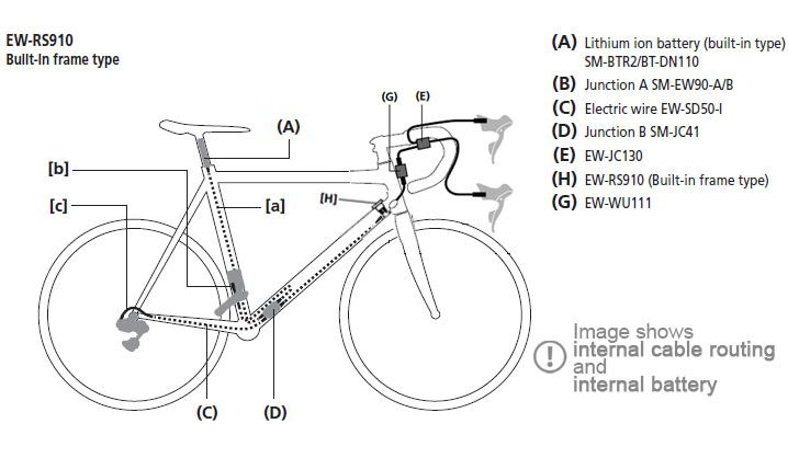 shimano dura ace di2 user manual