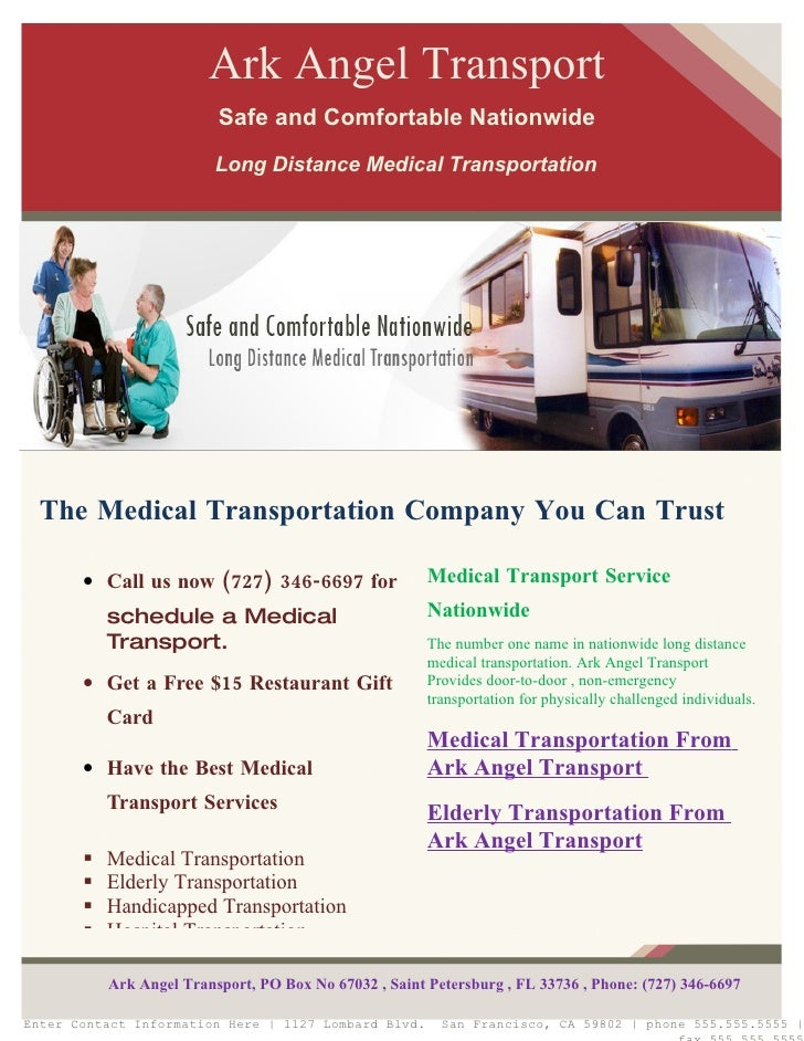 non emergency medical transportation policies and procedures manual