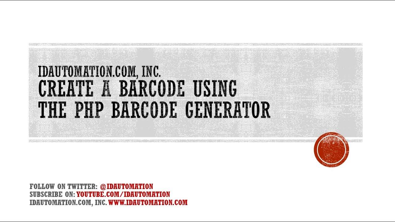 php pdf generator