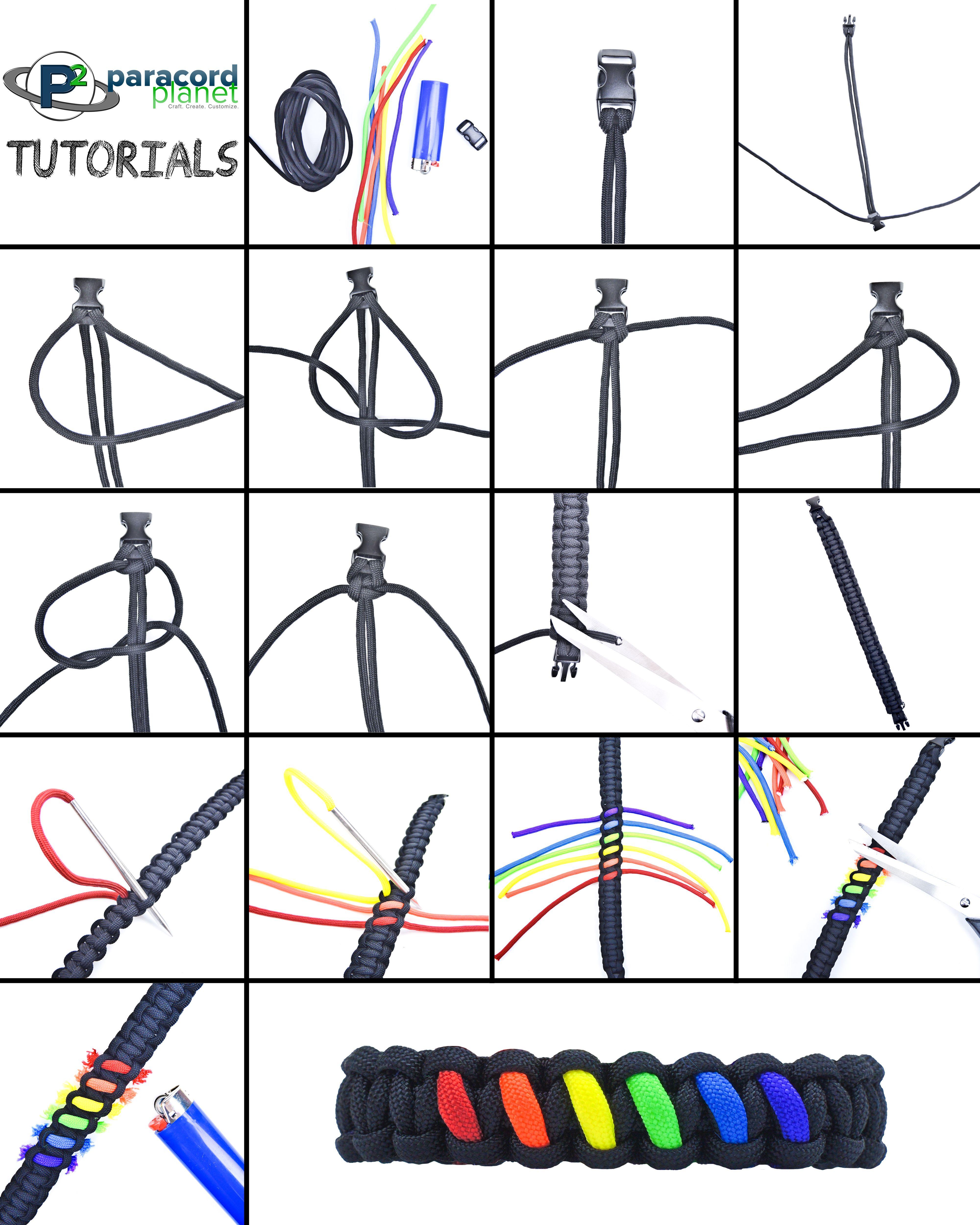 paracord bracelet patterns pdf