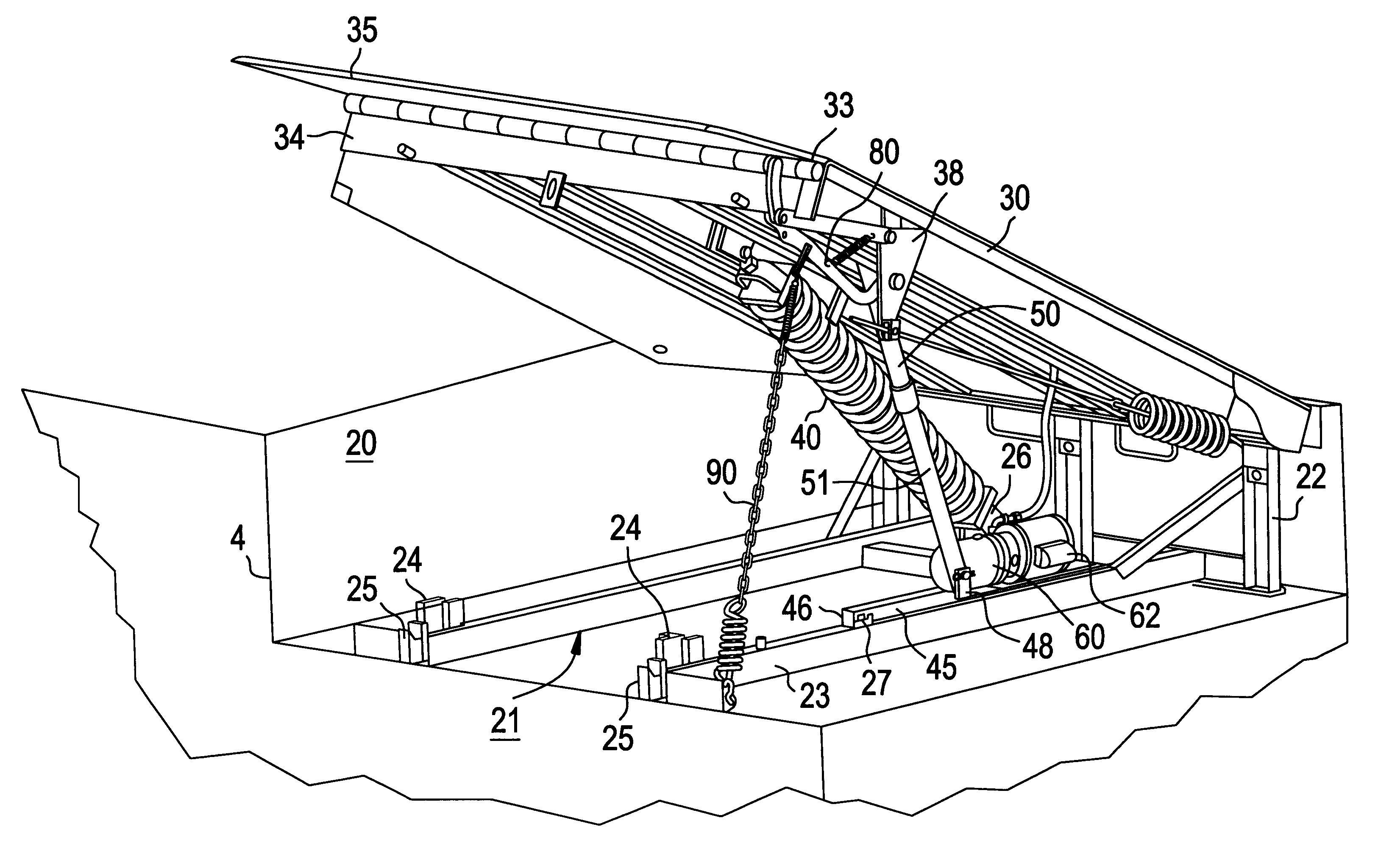serco dock leveler parts manual
