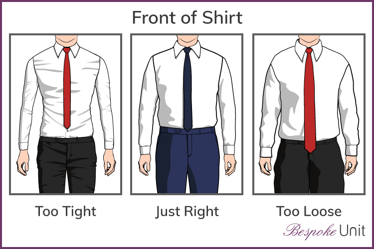 shirt length guide