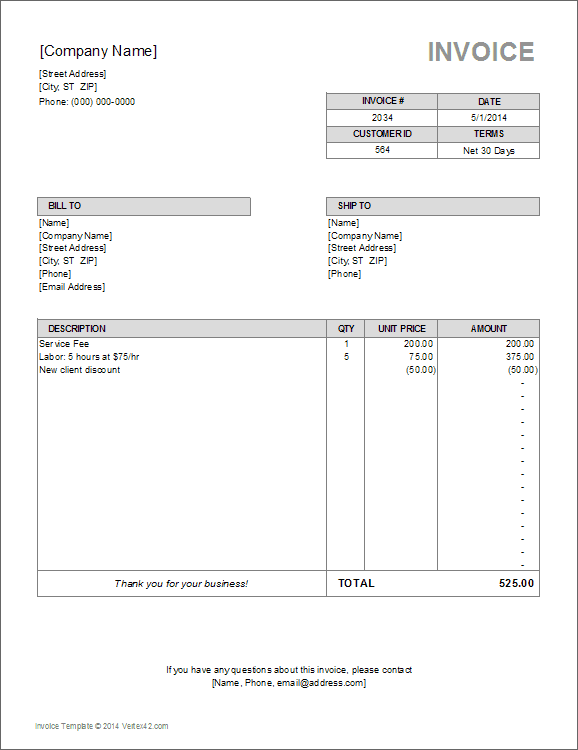 net components invoice templates from pdf scan