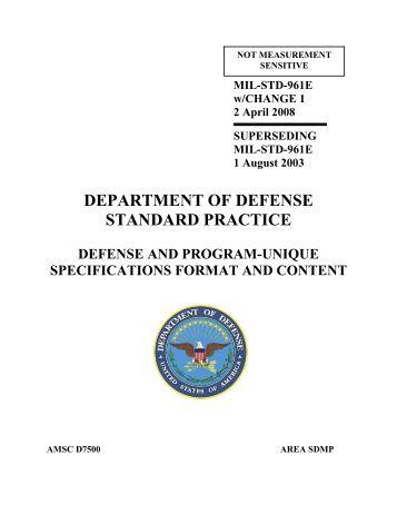 mil standards pdf