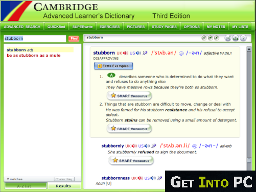 standalone online dictionary
