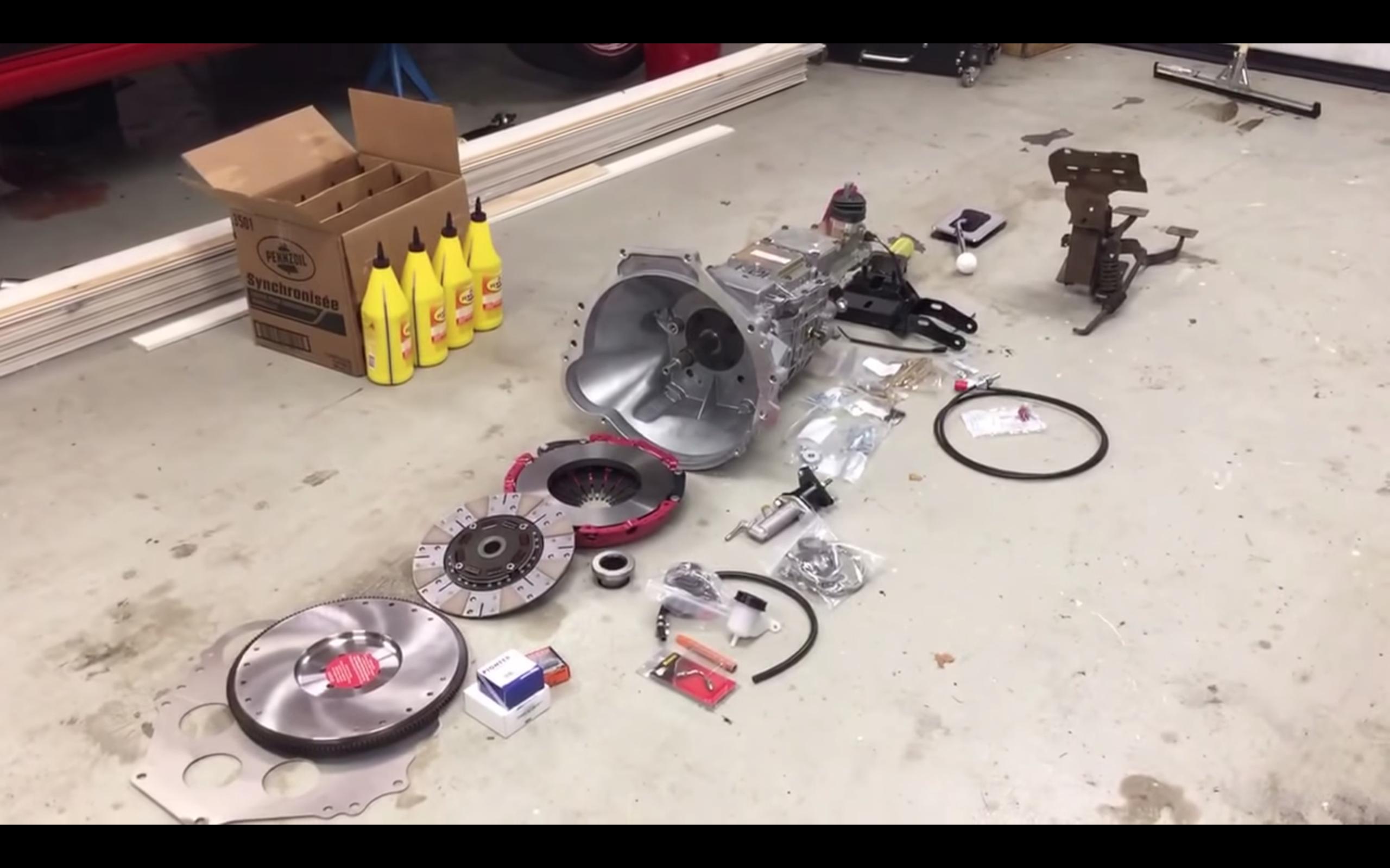 mx83 manual conversion kit