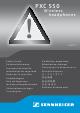 sennheiser pxc 550 user manual