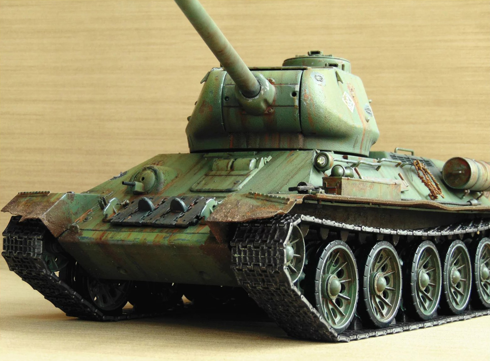 t 34 painting guide