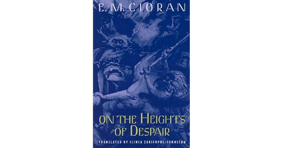 on the heights of despair pdf