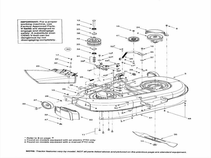 mtd riding mower parts manual
