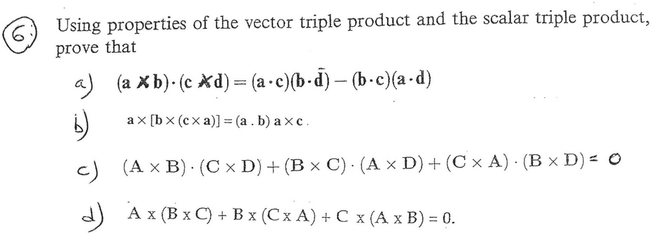 vector triple product application