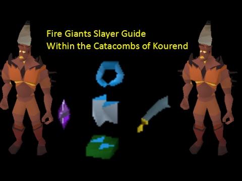 osrs fire giant kourend guide