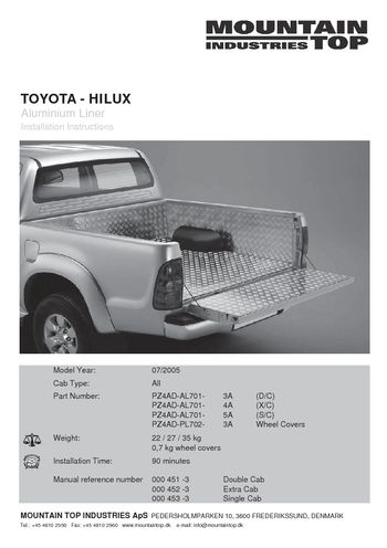 toyota hilux haynes manual download