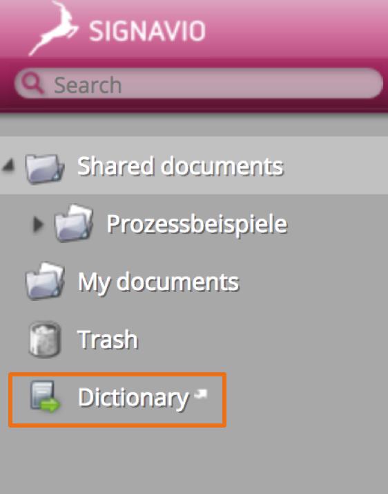 synchronise dictionary