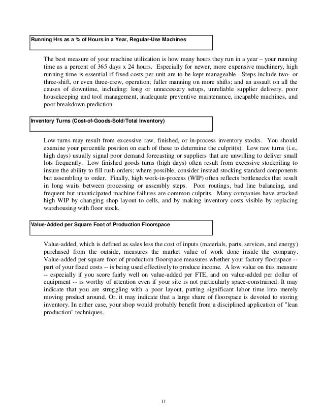 report on students performance sample