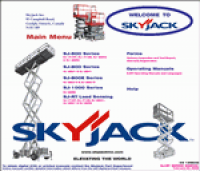 skyjack 9250 parts manual