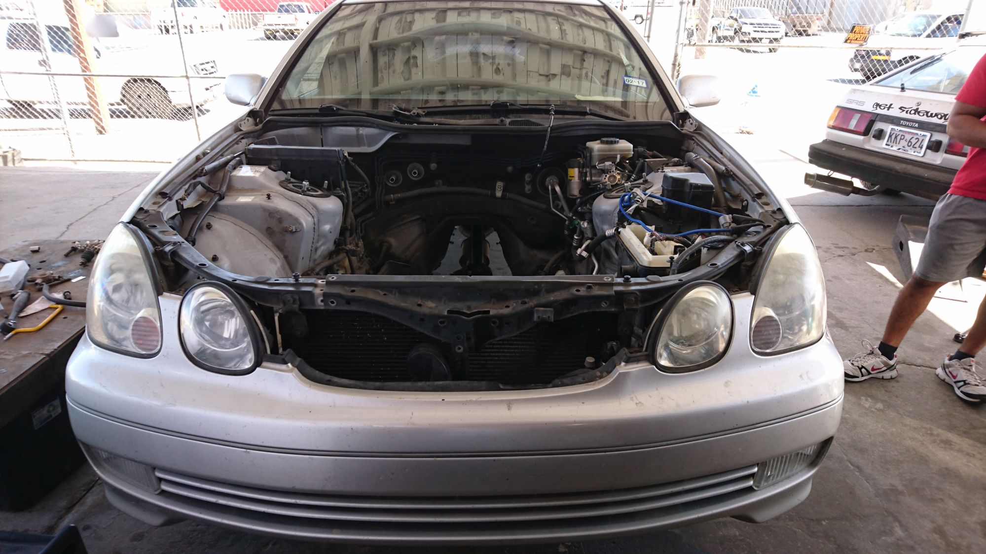 toyota aristo manual conversion