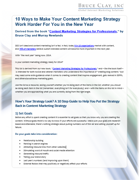 video marketing strategy pdf