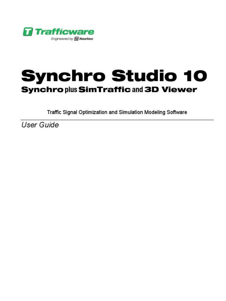 synchro 10 user guide