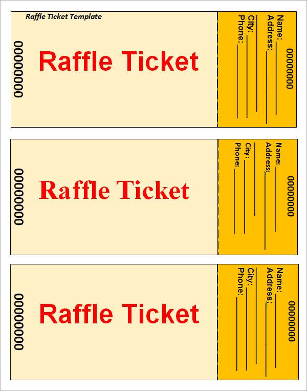 printable numbered raffle tickets pdf