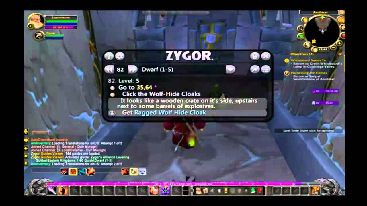 zygors leveling guide