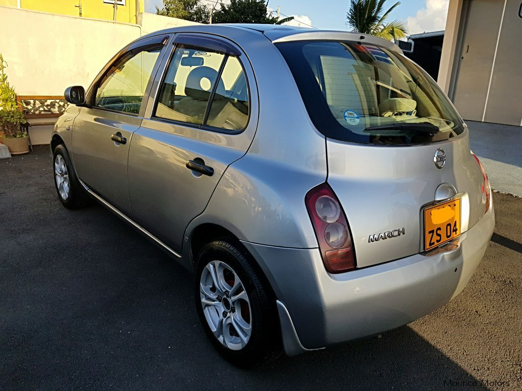 nissan march 2004 manual