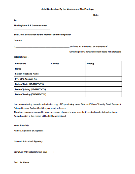 name change application format