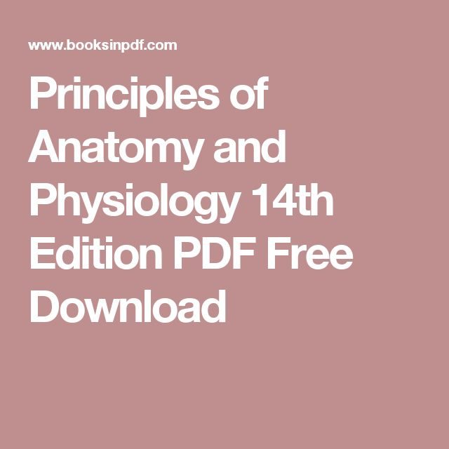 principles of anatomy and physiology 15th edition free pdf