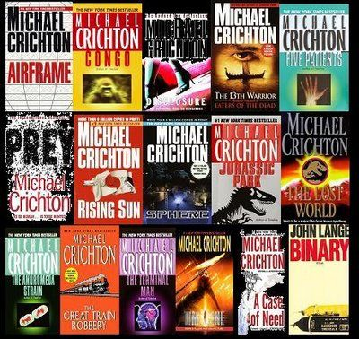 michael crichton best books pdf