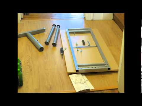 metal desk assembly instructions