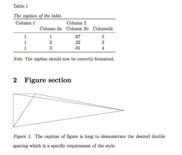 sample apa paper with figures