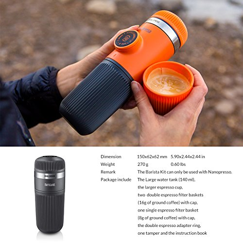 nanopresso barista kit manual
