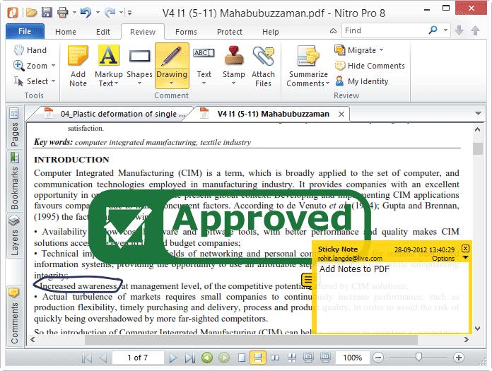 nitro pdf review