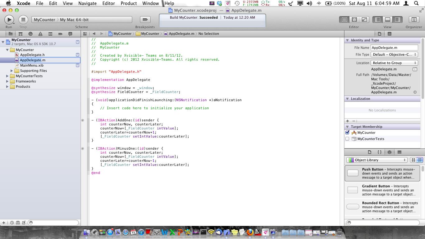 os x application builder