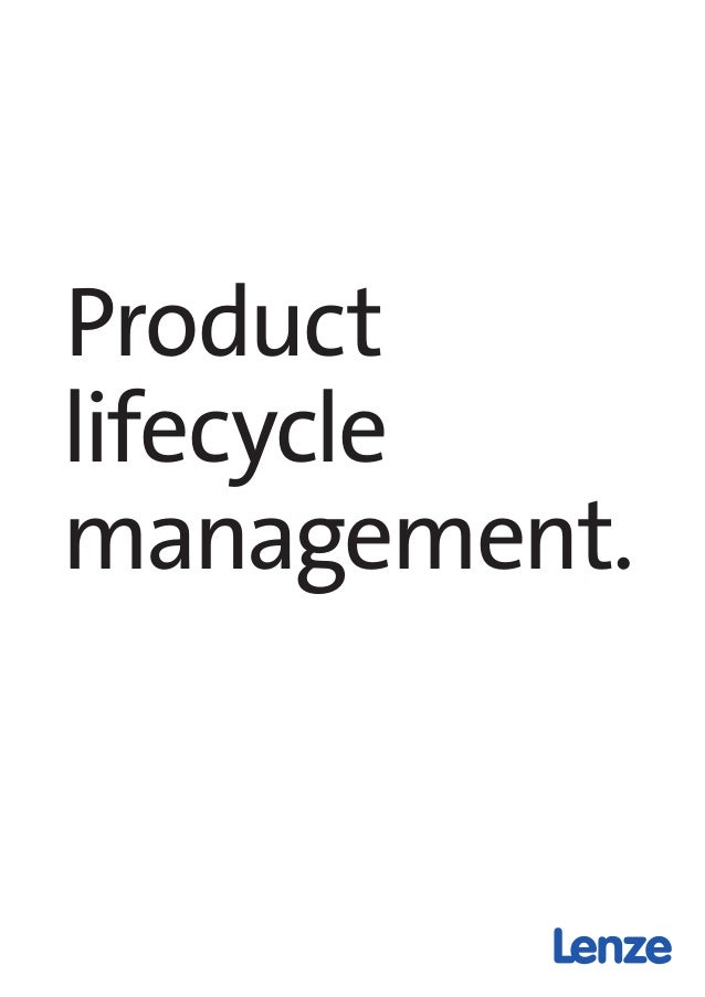 product life cycle pdf notes