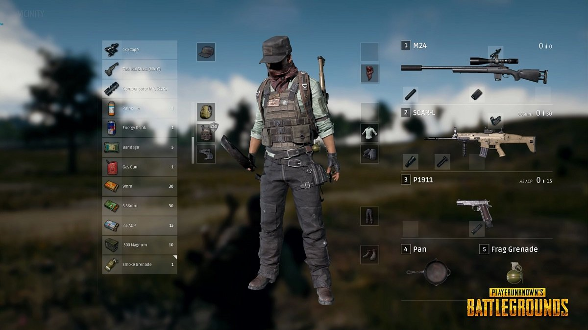 pubg loadout guide