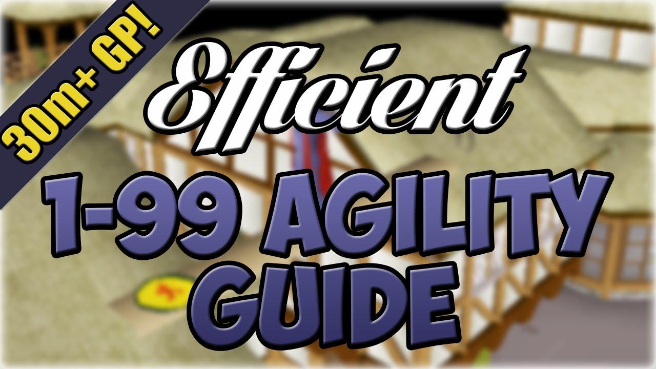 runescape agility guide 1 99