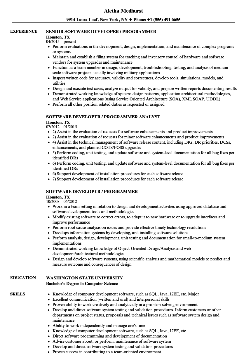 senior java developer resume sample indeed