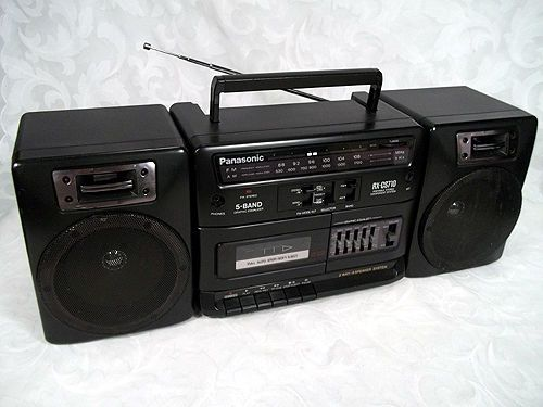 sony radio boombox manual