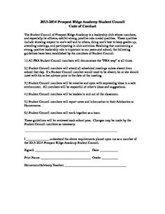 student leadership application form
