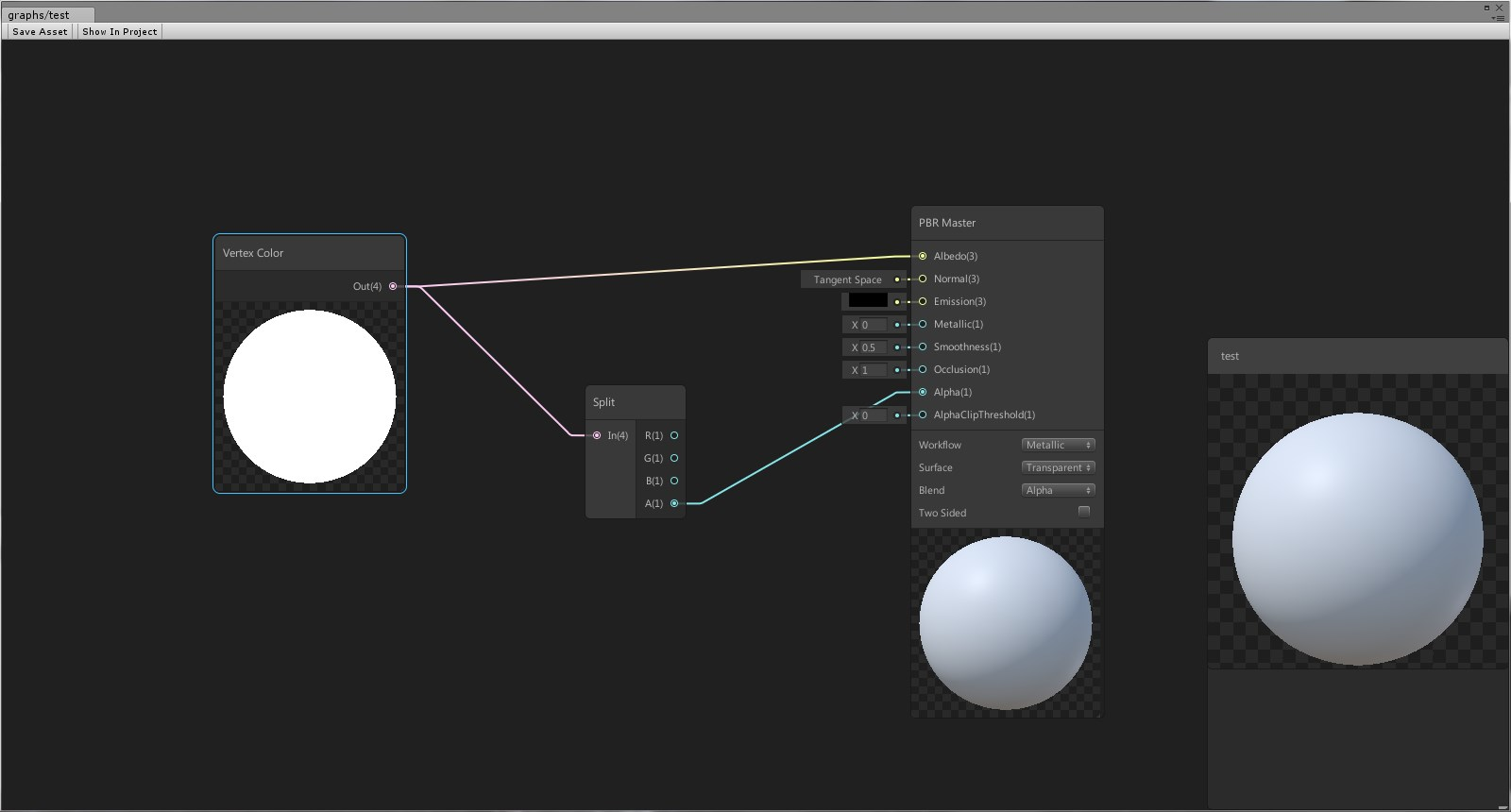 unity shader graph documentation