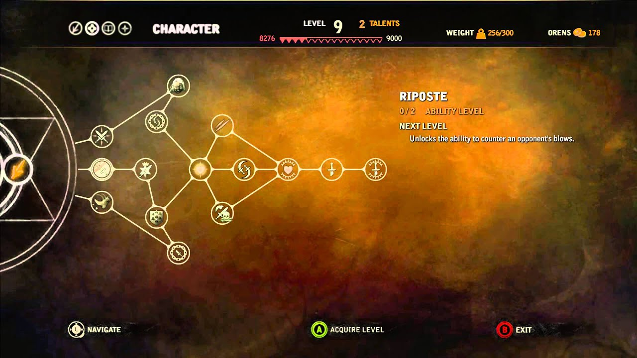 witcher 1 skill tree guide