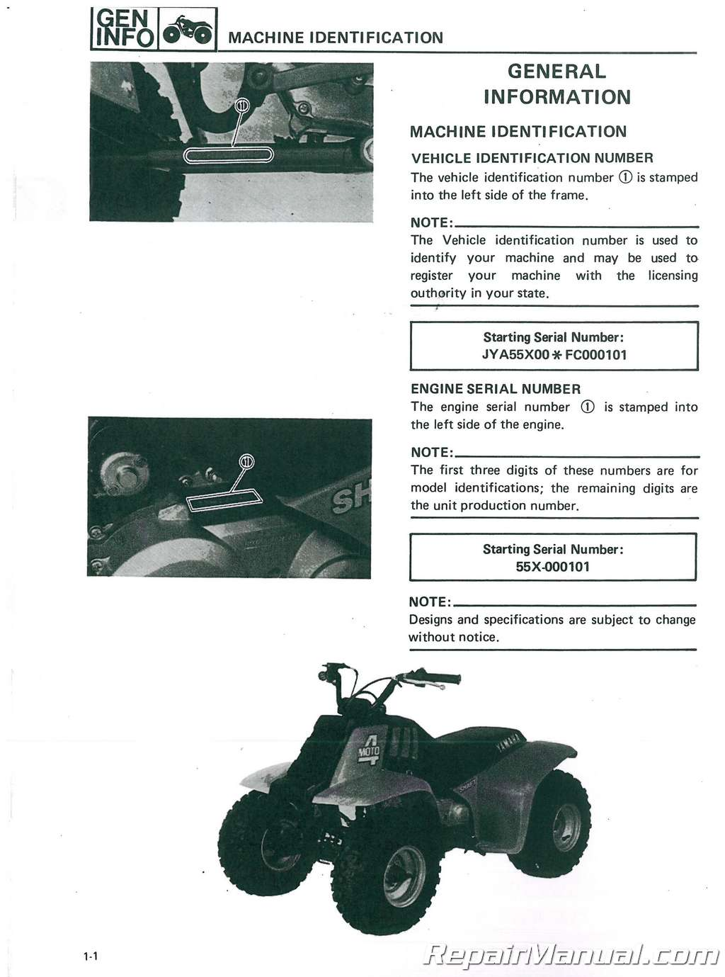 yamaha 5cmh service manual